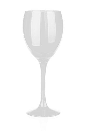 6 weiße Weingläser 300ml Rotweingläser Weißweingläser Weinkelch Gläser