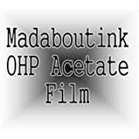 A3 OHP Acetato Transparencia Film Para Impresoras Láser & Copiadoras 50 Hojas