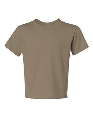Youth 5.6 oz., DRI-POWER� ACTIVE T-Shirt KHAKI L (Jerzees Baumwolle-khaki)