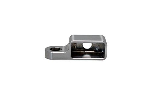 Blinkergehäuse Aluminium Universal für 23,5mm LED Einsätze, Blinkerhalter LED-Blinker Armaturen Lenkerarmaturen Blinker (Ohne LED) (Harley Led-blinker-einsätze)
