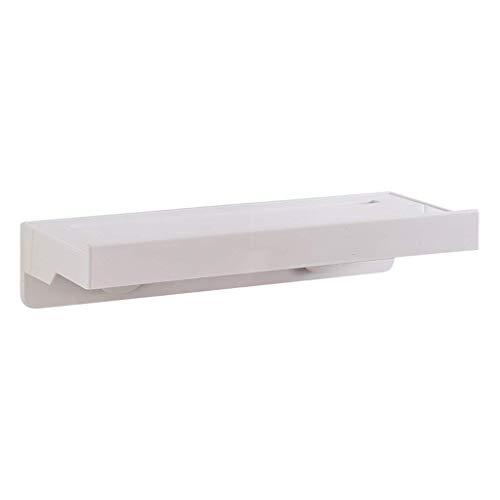 LUYIASI- Regal-Küche, die an der Wand frei von den Loch-Zahnstangen Abstandhalter-Gewürz-Wand-Regal-Badezimmer-Tuch-Zahnstange hängt Shelf (größe : 35 * 7 * 13.5cm)