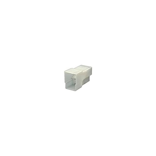 1 x HELLA Steckergehäuse Aus weißem Kunststoff. Zur Aufnahme von 3 Flachstecker 6,3 mm 3-polig