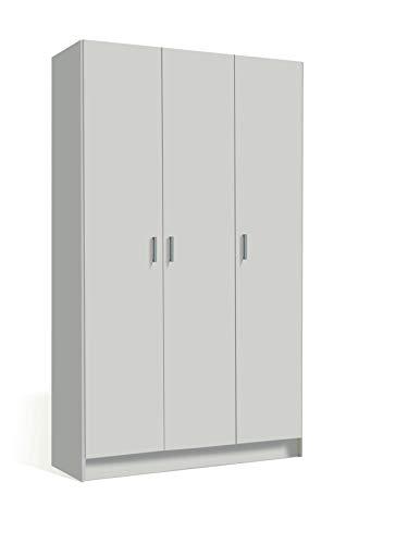 Esidra Armadio Bianco Doppia Anta 78x49x175cm