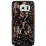 Hard Snap-On Protective Case for Samsung Galaxy S6 [JFALOJLJ55408] CUSTOM HALO 4 THEME Samsung Galaxy S6 Case - Black
