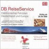 Kursbuch der Deutsche Bahn AG. Winter 1999 / 2000. CD- ROM