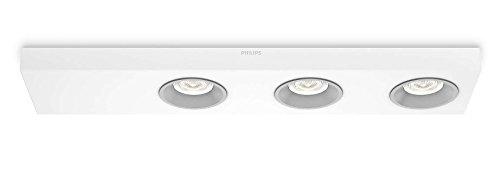 Philips Plafonnier LED Blanc Quine Luminaire d'intérieur