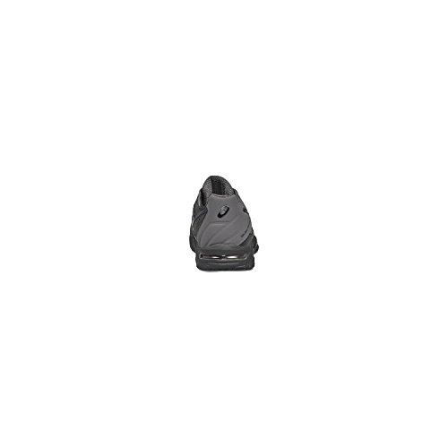 Asics Gel-Solution Speed 3, Scarpe da Ginnastica Uomo Nero (Black/Dark Grey)