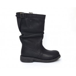 Stivale Donna Vintage 254 Bikkembergs BKW101530 Black, 39 MainApps