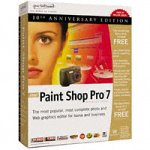 Jasc Software Paint Shop Pro 7.0 Anniversary Edition Update von FrontPage x.x D