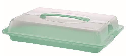 Rotho 1714605094 Partybutler, Kunststoff (BPA-frei), transparent/türkis