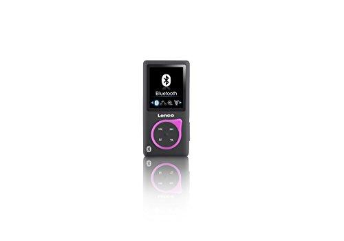 Lenco MP3-Player Xemio-768 - MP3-MP4-Player, 8 Gb Micro SD-Karte Inklusive Ohrstöpsel und bluetooth- grün - Micro-mp4-player