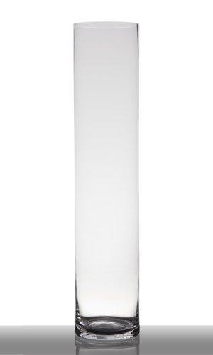 Jarrones Gran Florero De Vidrio Claro Soplado A Boca Vaso De Tierra El Florero Para Flores Talludas Dise Nt 27 Cm Altura Aproximadamente 50 Cm Gigante Jarron De Suelo De Cristal Transparente Grandes