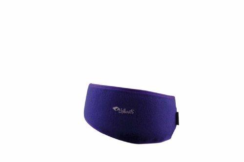 Chillouts Freeze Stirnband aus Fleece - lila/9 - One Size