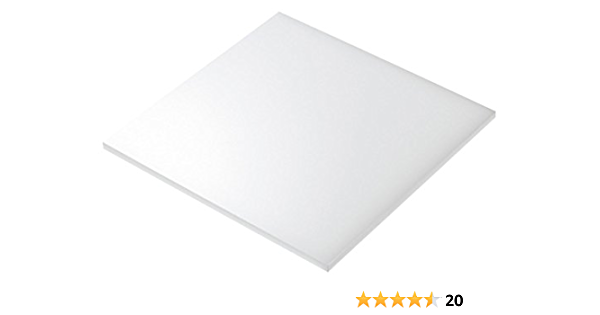 1189mm x 841mm // A0 5mm Perspex White Gloss Acrylic Plastic Sheet 16 SIZES TO CHOOSE
