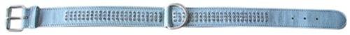 Europet Bernina 312-192900 Casino Halsband 3-reihig, 30mm x 60 cm, blau