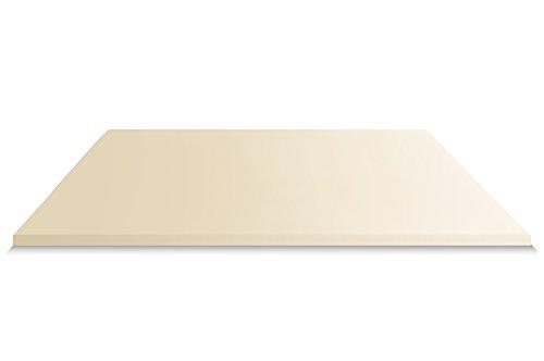 Visco Matratzenauflage ohne Bezug, Auflage für Matratze und Boxspringbett made in Germany, ÖKO-TEX® zertifiziert, für Rollmatratze und Zonen Kaltschaummatratze geeignet, Härtegrad (140 x 200 cm)