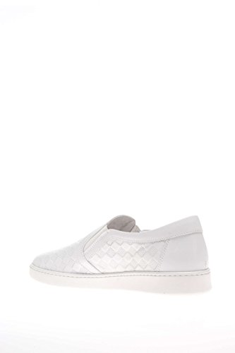 Nero Giardini Donna Sneaker P615270D-707 Sneaker slip on pelle Bianco