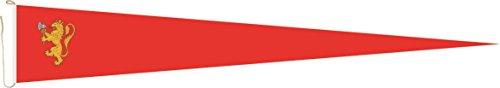 Haute Qualité pour U24 Long Fanion Norvège drapeau Royal 250 x 40 cm