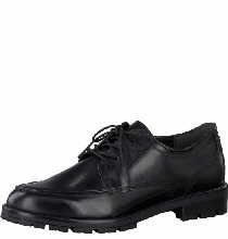 Marco Tozzi  2-2-23603-33/001, Chaussures de ville à lacets pour femme Noir