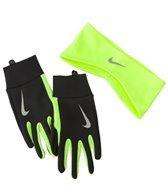 Nike Dri-fit Men 's Running Headband/Glove Set Cinta/Guantes