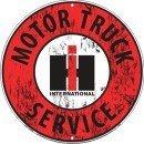 International Harvester Motor Truck Service Sign -