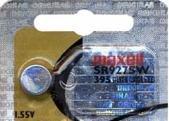 Maxell SR927SW - Pila de reloj, 1,55 V, 395, 5 unidades por paquete de Maxell
