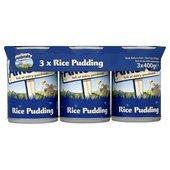 Ambrosia Devon Rice Pudding 3 x 400g