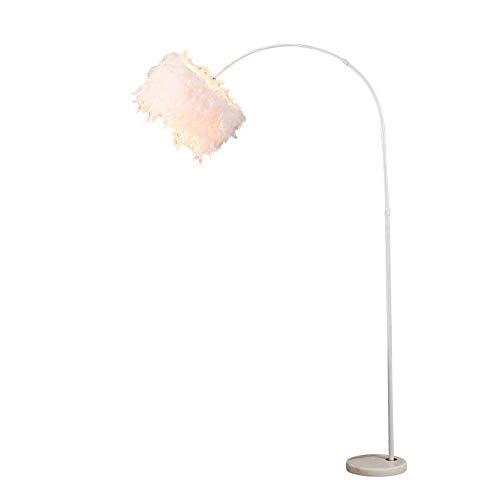 Kupfer-feder Tischlampe (A+ sun Feder lampenschirm led stehleuchte Moderne minimalistische Mode augenschutz vertikale tischlampe Wohnzimmer Studie hotelzimmer stehleuchte [energieklasse a +])