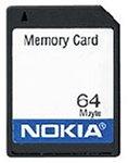Nokia 64MB Speicherkarte für Nokia 3310, 3650, 6230, 6230i, 6260, 9210i, N-Gage