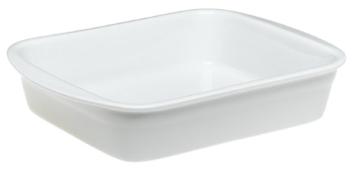 Pillivuyt Porcelain Heavy-Duty Medium 11-1/2-by-9-1/2-Inch Lasagne Baker Lasagne Baker