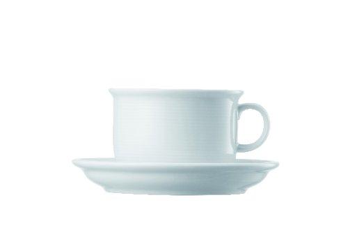 Service Rim Plate (Thomas Trend Weiß Kaffeetasse 2tlg / bestehend aus Kaffee-Obertasse und Kaffee-Untertasse / Thomas Trend Weiß)