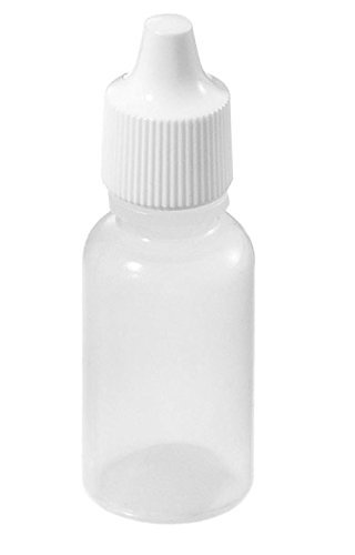 Asentechuk® 20 Stück 15 ml Kunststoff Leere Squeezable Dropper Bottles Eye Liquid Dropper Flaschen Liquid Dropper (Ml 15 Eye)
