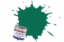 humbrol-14ml-no-1-tinlet-enamel-paint-30-dark-green-matt
