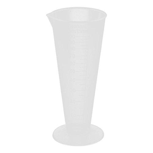 sourcingmap® Labor Kunststoff Flüssigkeit Messbecher Tasse Messbecher Transparente 100ml
