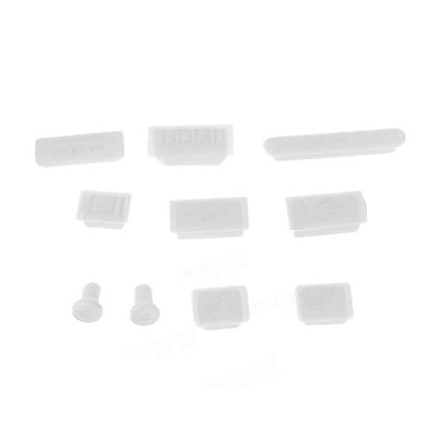 Fash Lady Bunte weiche Silikon-Antistaub-Stecker-HäFen eingestellt für MacBook Air 11.6 13.3