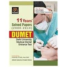 DUMET (Delhi Medical Entrance ) Solved Papers