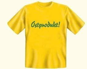 Tshirt Ostprodukt gelb - DDR Produkte - für Ostalgiker - Ossi Produkte
