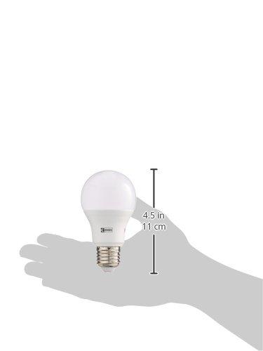 EMOS LED Glühlampe Classic A60 10,5W E27 Warmweiß, Glas, 10.5 W, Transparent, 6,2 x 6,2 x 11,5 cm