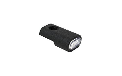 Blinkergehäuse schwarz Pulver beschichtet Universal für 15,5mm LED Einsätze, Blinkerhalter LED-Blinker Armaturen Lenkerarmaturen Blinker (LED Positionslicht) (Harley Led-blinker-einsätze)