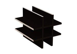 weinregal schwarzbraun infos und empfehlungen regalsysteme info. Black Bedroom Furniture Sets. Home Design Ideas