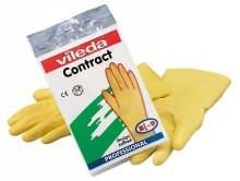 vileda 101018/100540 Handschuhe Contact gelb