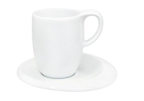Kahla - Porcelaine pour les Sens 365118A90036C Tao Tasse à Macchiato Blanc 7,5 x 10 cm