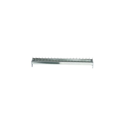 Mangeoire galvanisée - Longueur 50 cm