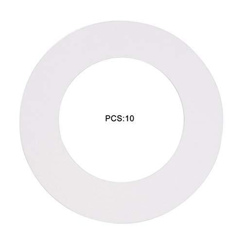 Pot Wax Warmer Clean Premium Collars Se adapta a la mayoría de 14 oz Calentador de latas Professional...