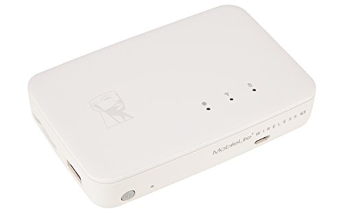 Kingston Technology MobileLite Wireless G3 Lettore di schede USB 2.0/Wi-Fi/Ethernet Bianco