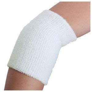 20x(Sports Cotton Basketball Long Wristband Elbow Guard Pad Sweat Band Sports, C
