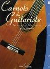 Partition - Carnets du Guitariste - Guitare - Volume 1 - Nouvelle édition