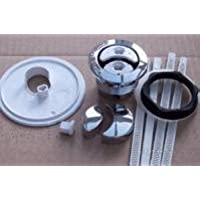 S4496AA Ideal Standard Genuine Crescent push button kit Chrome by Ideal Standard