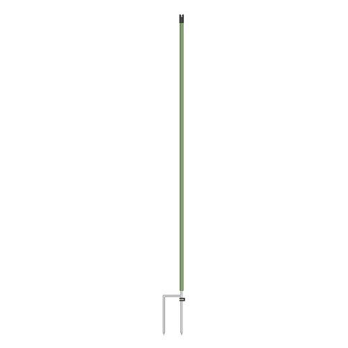 lot-de-10-piquets-supplementaires-pour-filet-de-cloture-electrique-112-cm-vert-double-pointe-poteaux