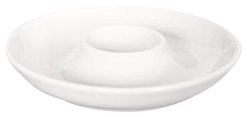 Kahla - Porcelaine pour les Sens 117404A90011X Pronto Colore Coquetier avec Coupelle Blanc 12 cm